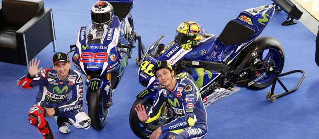 Movistar Yamaha MotoGP Team launches 2016 campaign in Barcelona