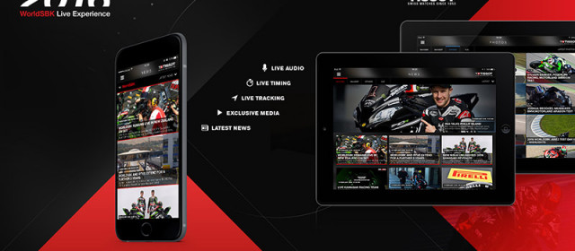 WorldSBK Live Experience App now available and free to download