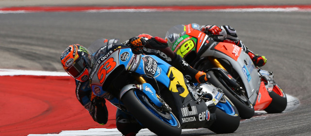 Tito Rabat gains experience and points in Texas tussle