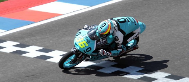 Joan Mir ready to charge from second row in Argentina