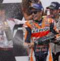 Brno podium for Marc Marquez, disappointing 12th for Dani Pedrosa