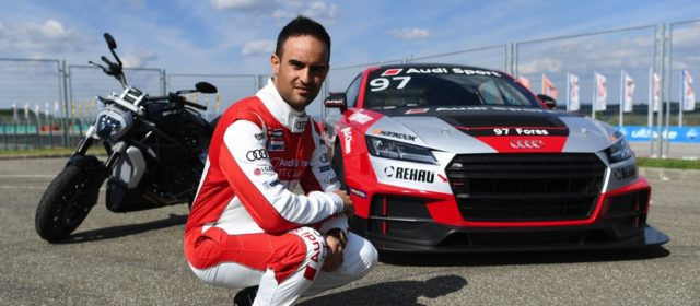 Four Wheels special: Xavi Fores & Chaz Davies make guest appearance in Audi Sport TT at Hungaroring