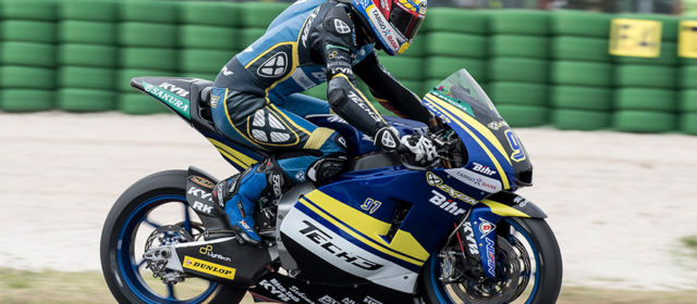 Xavi Vierge takes impressive 12th at Misano, DNF for Isaac Viñales
