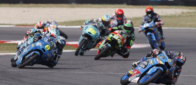 Crash takes Jorge Navarro out of fight for Misano win, Aron Canet finishes seventh