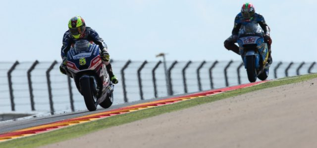 Hector Barbera takes thirteenth in difficult Aragon GP