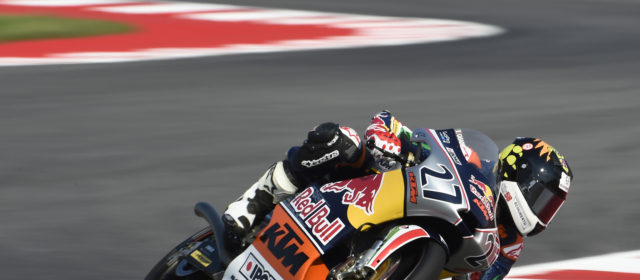 Red Bull Rookies, Misano: Qualifying round-up