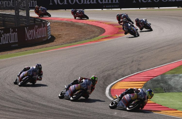Red Bull Rookies, Aragon Race 2: Sasaki takes win and Cup in season finale