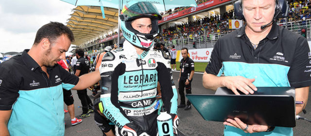 Joan Mir lucky to escape injury in Sepang crash