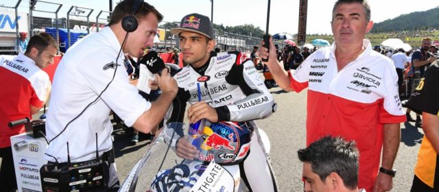 """""""Another race lost to injury"""" for Aspar's Jorge Martin"""