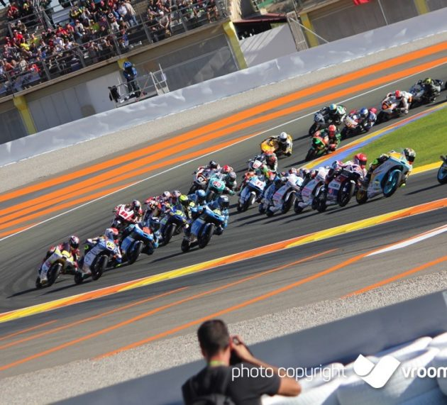 Photos: Valencia GP, Moto2 and Moto3 races