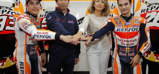 Industry news: Repsol and Honda extend MotoGP contract until 2018