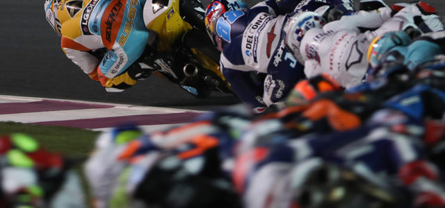 Strong Qatar race from Guevara ends in getting caught up in another rider's crash