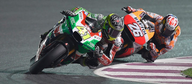 Strong start with Aprilia for Aleix Espargaro with 6th in Qatar
