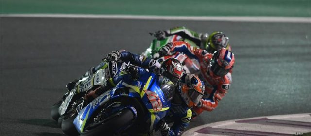 Ninth place for Alex Rins at Losail