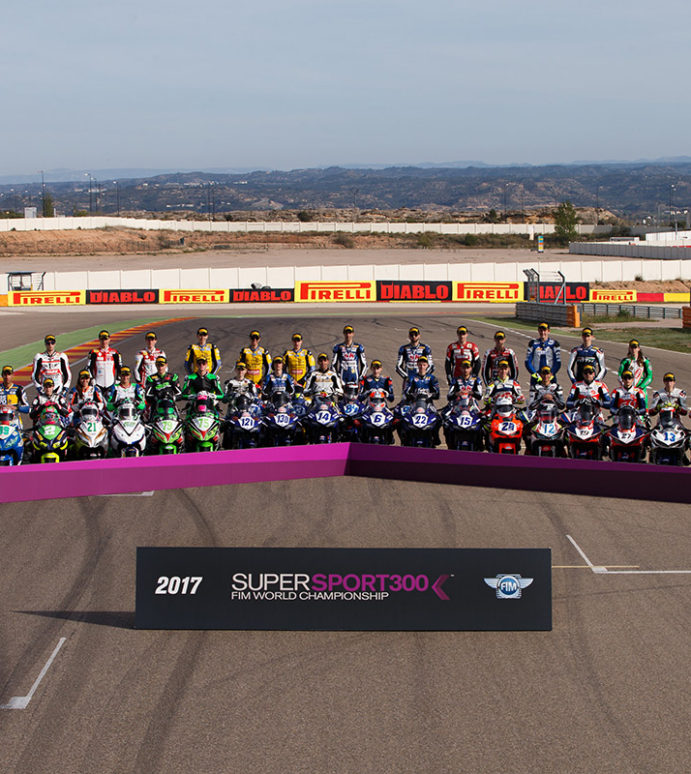 World Supersport 300 kicks off in style at Aragon