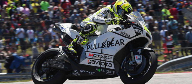 Alvaro Bautista recovers from crash to take a point in Texas