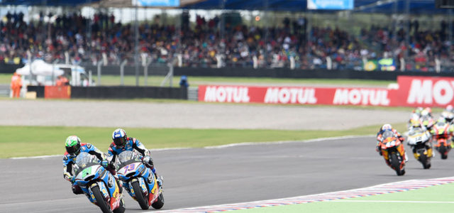 Alex Marquez salvages 21st after last lap crash at Rio Hondo