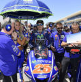 Maverick Viñales crashes out of Americas GP