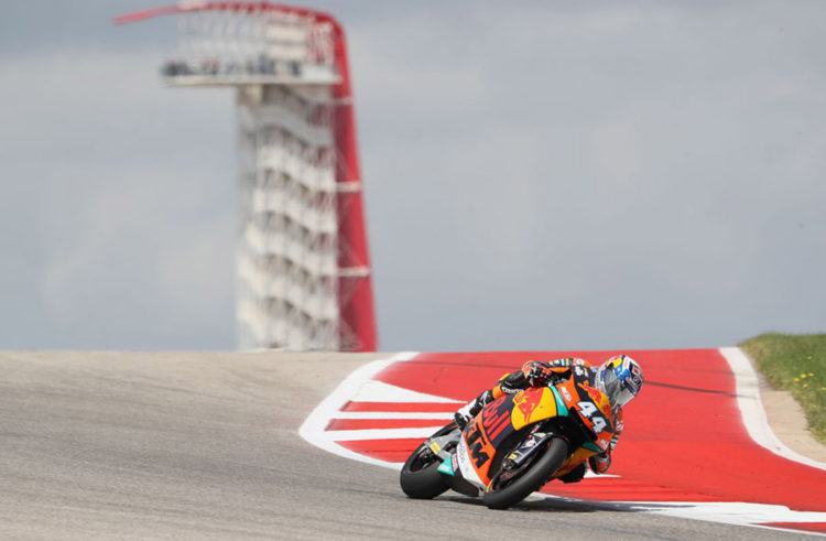 Miguel Oliveira takes seventh spot on Austin grid, Ricky Cardus 10th