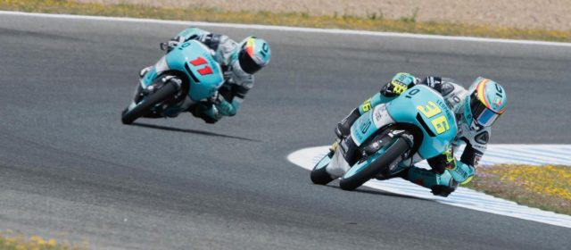 Joan Mir in control at Jerez on Friday