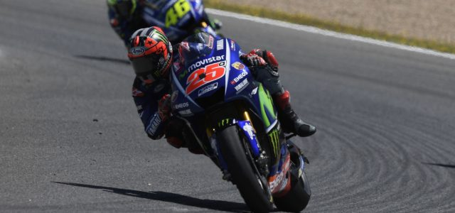 Challenging Jerez race through grip issues for Maverick Viñales