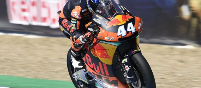 Second row for Miguel Oliveira at Jerez