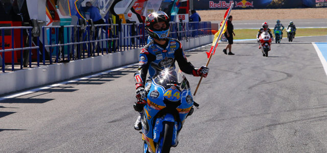 Aron Canet takes maiden win in the final corner at Jerez