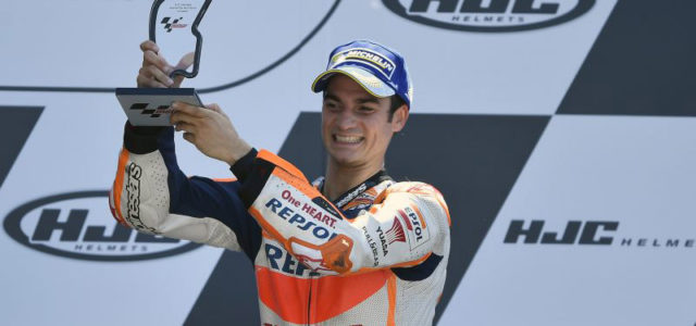 Mixed fortunes for Repsol Honda Team in Le Mans with Dani Pedrosa 3rd, but Marc Marquez DNF