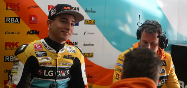 Cautious first day on track at Jerez for Juanfran Guevara
