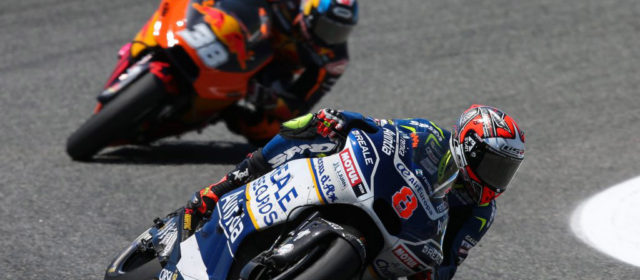 Hector Barbera fights hard to take twelfth at Jerez