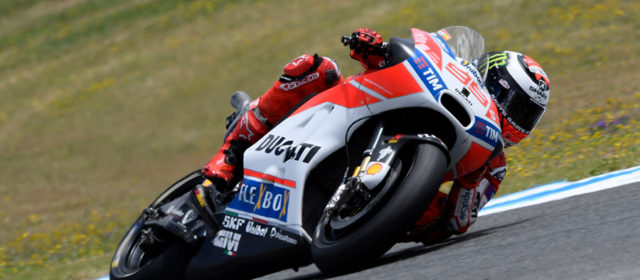 Jorge Lorenzo completes first day of Spanish GP practice at Jerez in fourth place