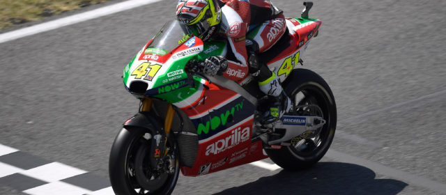 Only a penalty for a jump start put the brakes on Aleix Espargaró's ambitions at Mugello
