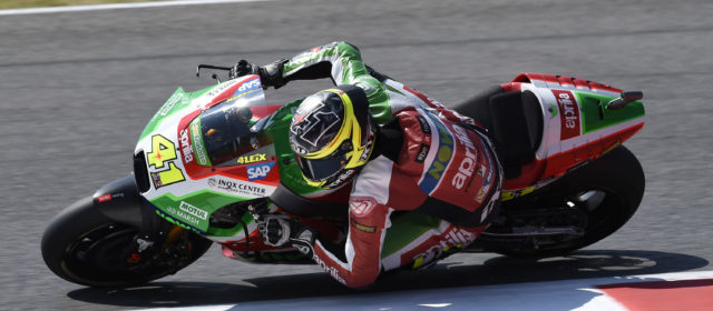 Aleix Espargaró will start from the fourth row in the Mugello GP