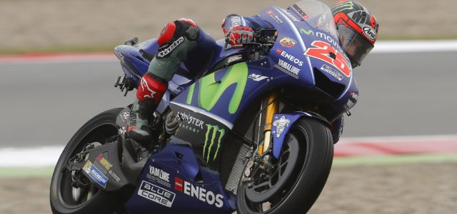 Maverick Viñales crashes out of Assen race