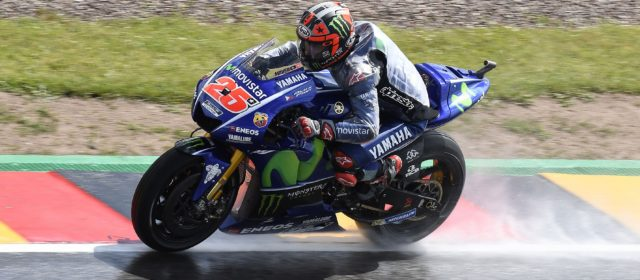 Maverick Viñales takes 2nd in the combined free practice timesheet