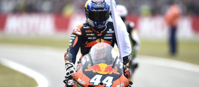 Third consecutive top 5 finish for Miguel Oliveira