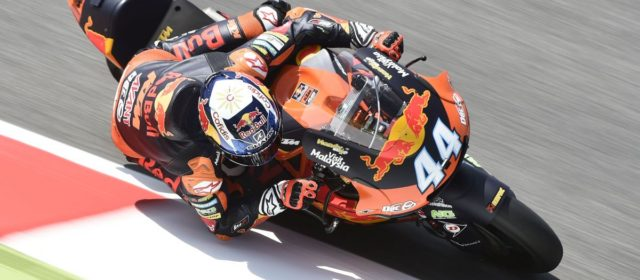 Miguel Oliveira to start from third row at Mugello