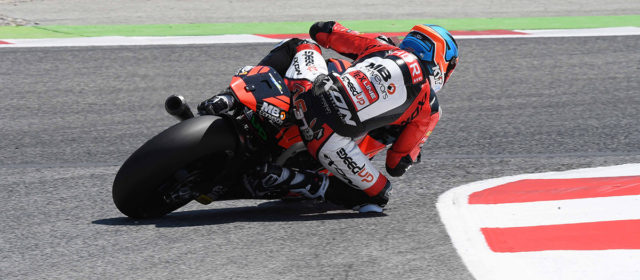 Augusto Fernández continues to make progress with positive Catalan GP