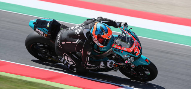Augusto Fernandez continues to improve on Qualifying day at Mugello