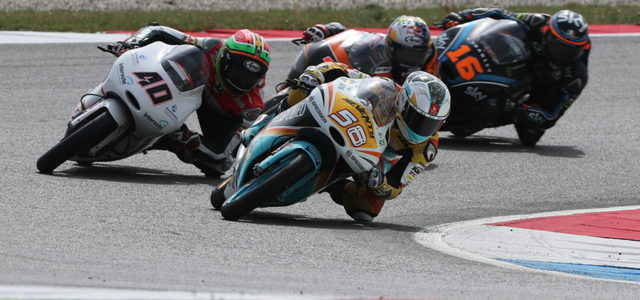 Juanfran Guevara in the points at Assen
