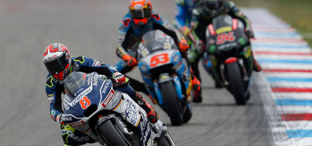Hector Barbera just out of the points at Assen
