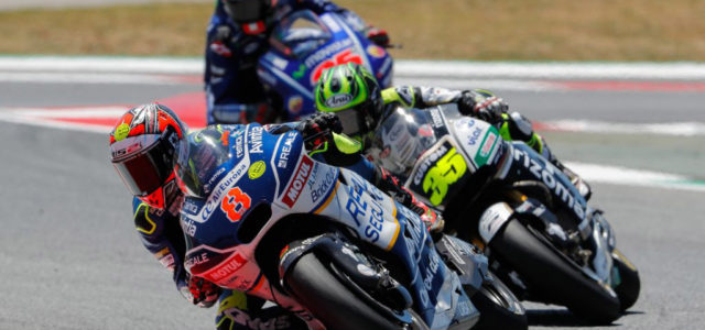 Superb top 10 for Hector Barbera at the Catalan GP