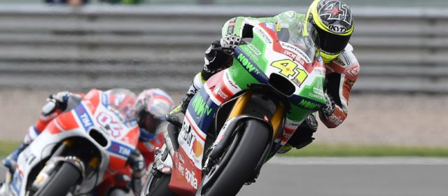 A nice seventh place race finish for Aleix Espargaró who closes out the weekend in Germany as a protagonist