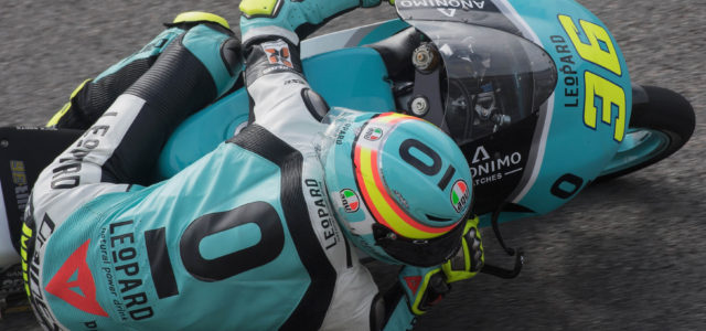 Joan Mir starts second in Germany