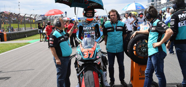 Disappointing DNF ends promising Sachsenring weekend for Augusto Fernández
