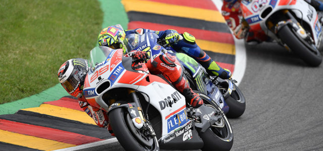 Jorge Lorenzo finishes eleventh in Germany