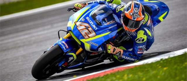 Alex Rins making progress in Austria