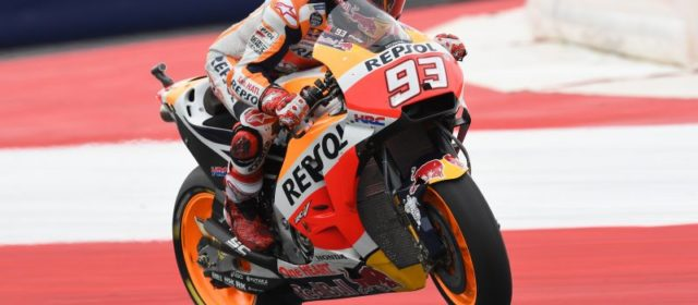 Marc Marquez clinches breath-taking pole in Austria