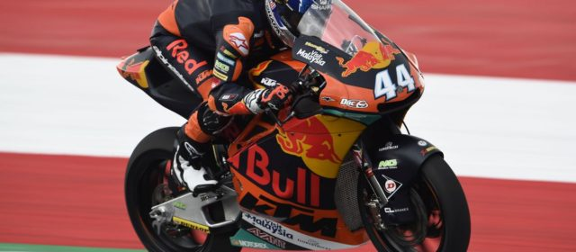 Miguel Oliveira to start Austrian GP from third row