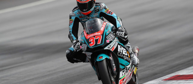 Augusto Fernandez finishes just outside the points in Austrian GP